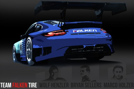Team Falken Tire No.17