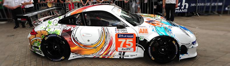 Prospeed Porsche 911 Rsr Customer Team