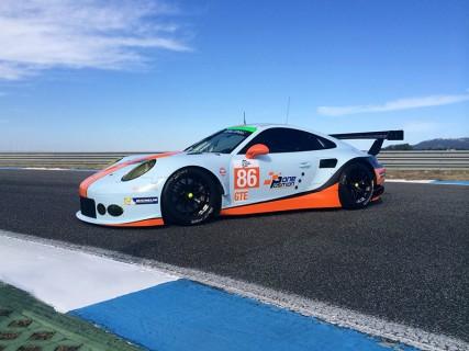 Gulf Racing Porsche 911 RSR (Type 991) ELMS #75