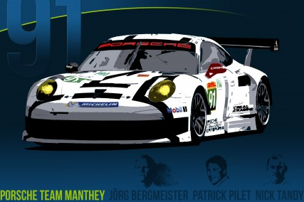 Porsche Team Manthey: 91